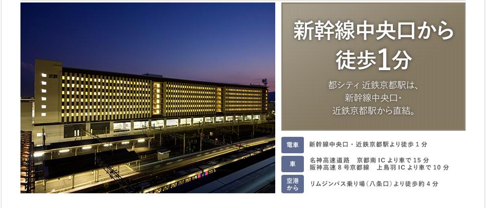 新幹線中央口から徒歩1分